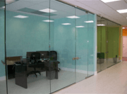 commercial glass in houston